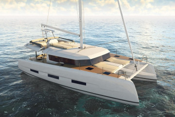Dufour 48 Catamaran LER - BLUE HULL, A/C+GEN., UNDERWATER LIGHTS