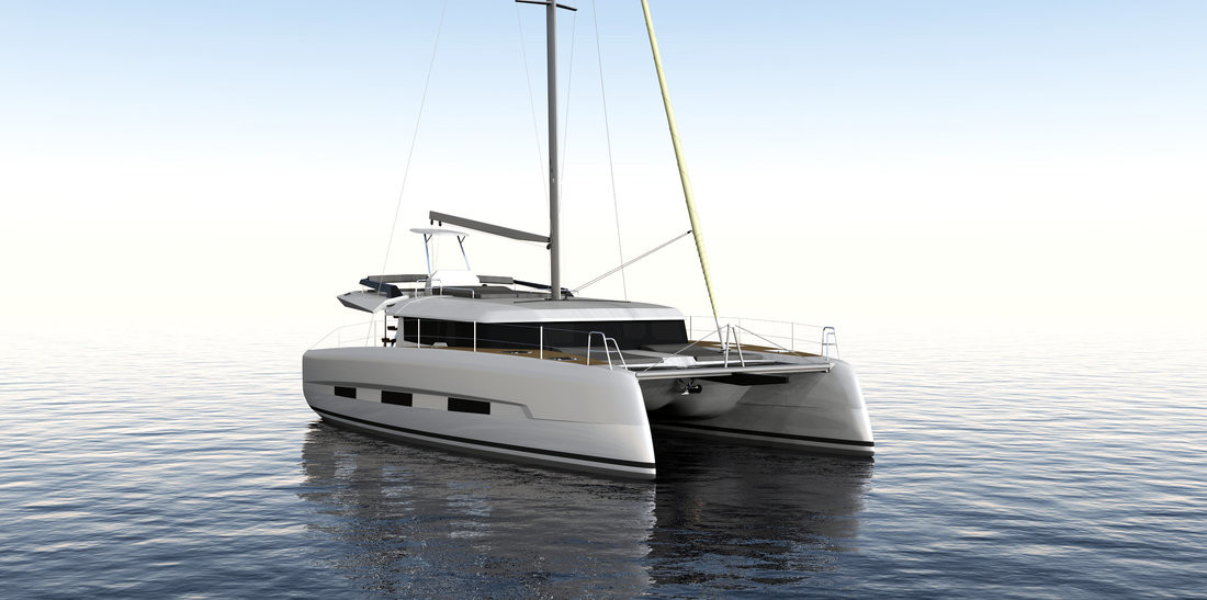 Dufour 48 Catamaran, LER - BLUE HULL, A/C+GEN., UNDERWATER LIGHTS