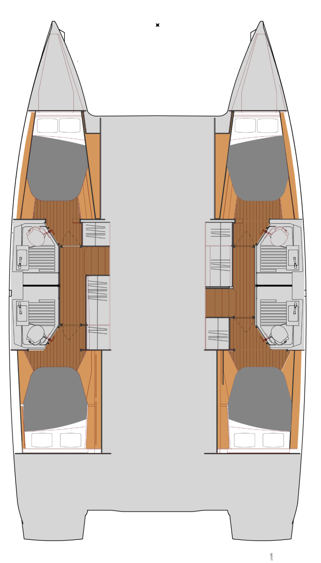Fountaine Pajot Astrea 42, OCEAN RUNNER with AC and generator