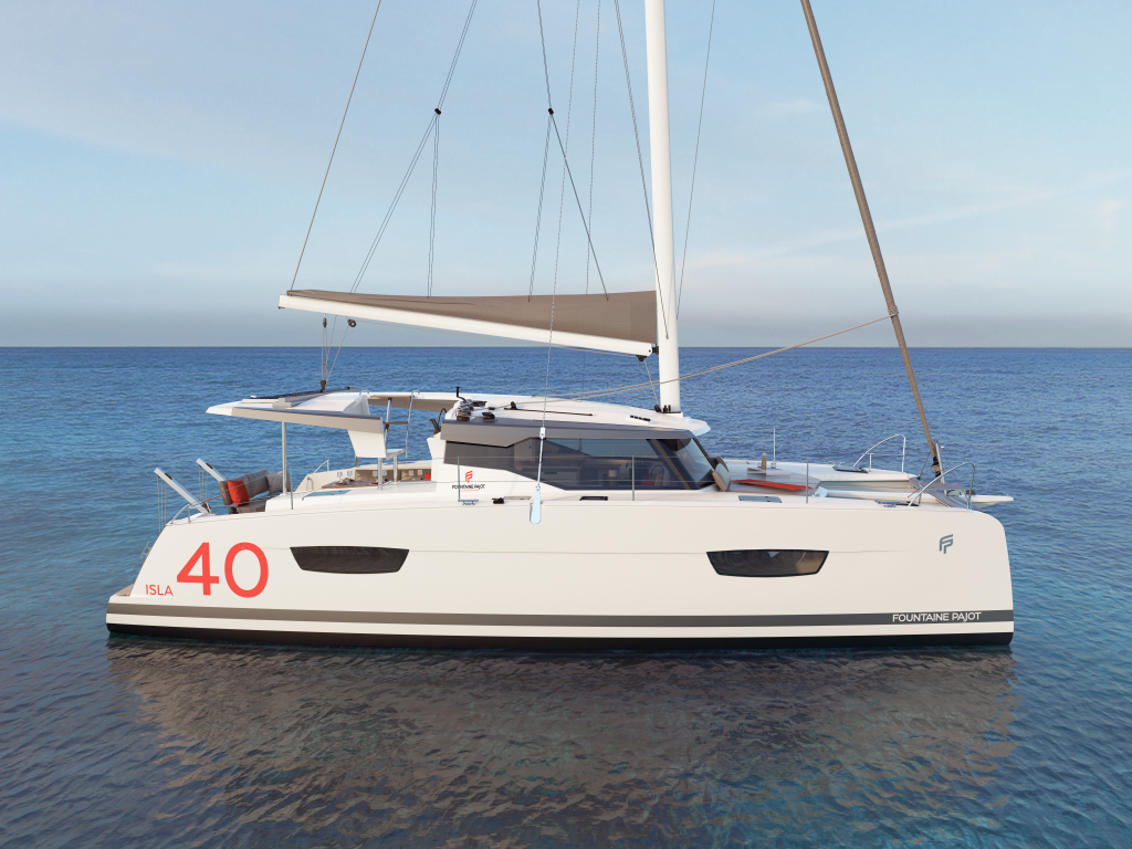 Fountaine Pajot Isla 40, Island Escape with AC and generator