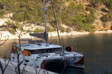 Fountaine Pajot Saba 50 Sunshine Reggae with AC and generator