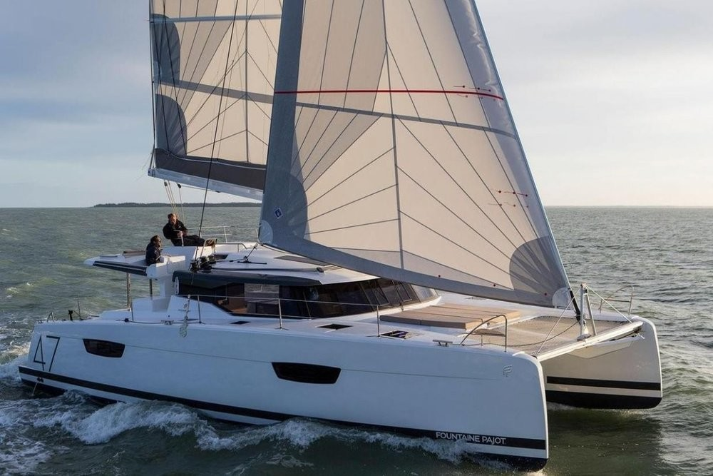 Fountaine Pajot Saona 47 (Quintet), DESAFINADO with AC and generator